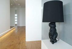 black rabbit Rabbit, Table Lamp, Lighting, Black, Design, Home Decor, Projects, Bunny, Rabbits