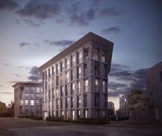 Alison Brooks Architects _ North West Cambridge Development _ Visualisation Veteran Oak Apartments 1