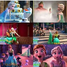 New looks on Frozen fever!!!