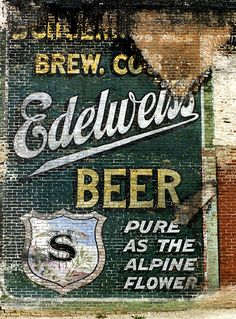 Ghost Sign in Milwaukee Wisconsin