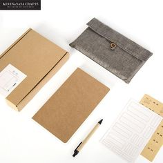 New Notebook Luxury 128 Sheets 2018 Planner Sketchbook Diary Note Book Vintage Fabric Journal Stationery School Tools Gift set 2018 Planner, School Tool, Fabric Journals, Kraft Paper, Travelers Notebook, Cute Gifts, Graffiti, Stationery, Cover