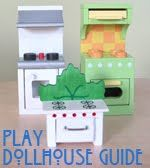 Project: Project: Dollhouse furniture is also expensive. Make your own!