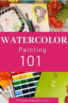 Learn about watercolor paints and supplies and tips to get you painting today. Watercolor Journal, Watercolor Tips, Watercolour Tutorials, Watercolor Techniques, Watercolour Painting, Art Journal Tutorial, Art Journal Techniques, Learn To Paint, Your Paintings