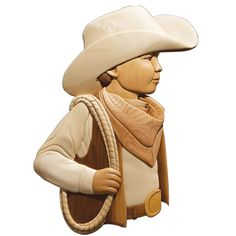 INTARSIA CHILD COWBOY *