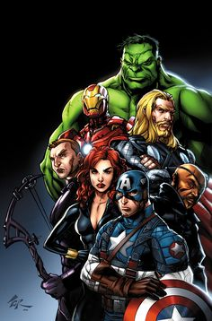 Avengers...with JPR Magic by torsor on @deviantART
