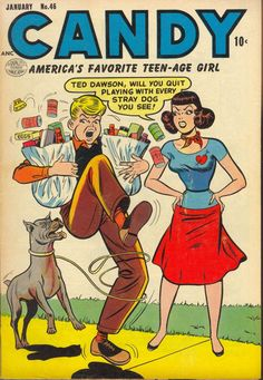 Comic Book Cover For Candy #46