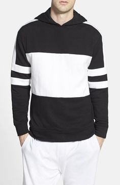 ZANEROBE 'Lineback' Quilted Colorblock Hoodie - that should be mine!