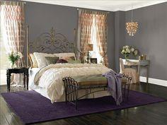 Dutch Boy Quarry Me Grey Master Bedroom
