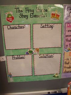 The Frog Prince Story Elements!: Fairy Tale/Storybook Characters Unit