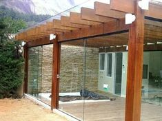 There are lots of pergola designs for you to choose from. You can choose the design based on various factors. First of all you have to decide where you are going to have your pergola and how much shade you want. Cedar Pergola, Pergola Carport, Deck With Pergola, Wooden Pergola, Covered Pergola, Patio Roof, Pergola Patio, Pergola Plans, Pergola Kits