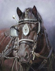 Currently Available Original Paintings For Sale from Canadian Artist Adeline Halvorson Big Horses, Work Horses, Horse Love, Animal Paintings, Horse Paintings, Pastel Paintings, Horse Artwork, Original Paintings For Sale, Cowboy Art