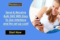 The cheapest bulk SMS service provider in India. Use our SMS gateways to send bulk SMS Online anywhere in India for as low as sms price. more details visit : http://www.ebulksmsindia.in/