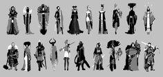 ArtStation - Character design 1, Ola Karambola Starodubtseva
