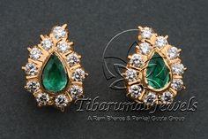 EAR TOPS|Tibarumal Jewels | Jewellers of Gems, Pearls, Diamonds, and Precious Stones