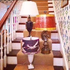 Vintage lamps re-imagined by Hunt Co Design.