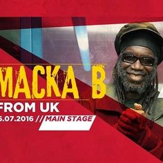 BABABOOM FESTIVAL 2016 • Friday, July 15, 2016 • Main Stage • Macka B from UK #bababoomfestival #bababoom2016 #reggaemusic #live #music #dafarenellemarche #marchetourism #positivevibes #instareggae #exploringmarche #igersfermo #igersmarche #igersitalia #igerslondon #goodvibes #peacethroughmusic #vibrations www.bababoomfestival.it