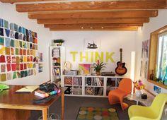 Ideas for Storage, Design and Art Studio Organization