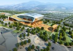 Health & Sports Education Center of Kang-won National University / Idea Image Institute of Architects | ArchDaily