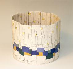 North Sea and the shooting stars Maria ten Kortenaar porcelain