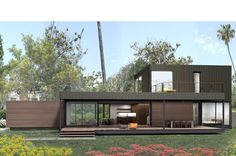 Marmol Radziner prefab Skyline 2.3 3 bed/2 bath, 1925 sq ft, 660 sq ft deck
