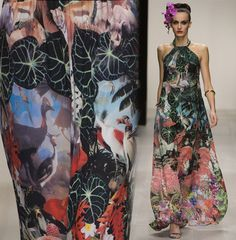 Jungle Prints from Issa Spring 13:  Jungle Trend from the Spring 13 Runways: http://www.patternpeople.com/sp13-jungle-trend/