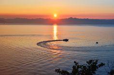 sunset, avacha bay