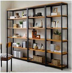 Wrought iron wood shelving racks , wrought iron , wrought iron shelf bookcase…
