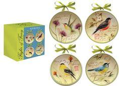 ICFFSP  Flight of Fancy Spring Mini Plates© Susan Winget                                                        birds