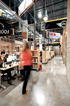 Crispin Porter + Bogusky - Miss this space. The Factory!
