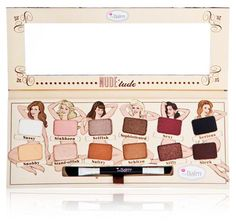 GIVEAWAY ENDS AUG. 27 @MIDNIGHT EST! The Nude 'Tude Palette by TheBalm Cosmetics!