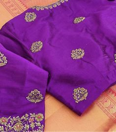 Cutwork Blouse Designs, Wedding Saree Blouse Designs, Pattu Saree Blouse Designs, Simple Blouse Designs, Stylish Blouse Design, Blouse Neck Designs, Maggam Works, Hand Work Blouse Design, Designer Blouse Patterns
