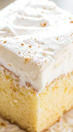 Best Tres Leches Cake.