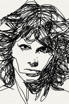 Jim Morrison...This would be cool for a thread sketch