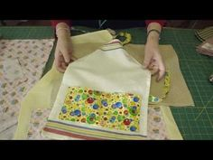 ▶ Make an Apron Using Tea Towels - Part 2 of 2 - YouTube