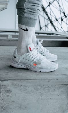 a7765400807 OFF WHITE x Nike Air Presto All White Prestos