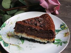 Cheesecake with chocolate and coconut - Coconut and chocolate cheesecake