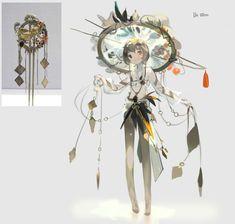 Game Character Design, Fantasy Character Design, Character Design References, Character Design Inspiration, Character Concept, Character Art, Concept Art, Art And Illustration, Fantasy Kunst