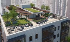 Revised Gold Coast apartment proposal to get public debut - Curbed Chicagoclockmenumore-arrow : The project would replace the Gold Coast's sole remaining undeveloped parcel along Lake Shore Drive Terrace Garden Design, Rooftop Design, Sky Garden, Rooftop Restaurant, Rooftop Patio, Rooftop Gardens, Vertikal Garden, Appartement Design, Green Architecture