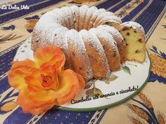 Ciambella all'arancia e cioccolato! Doughnut, Baking, Desserts, Food, Bread Making, Tailgate Desserts, Deserts, Patisserie, Essen
