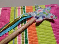 Tuto couture : une baguette magique de fée en tissu, facile à réaliser
