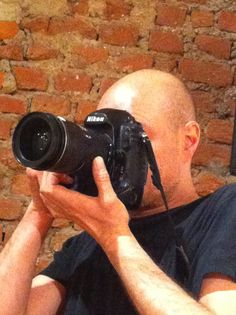 Finizio's son is the photographer of the evening