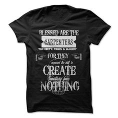 Blessed Carpenters - #gifts for girl friends #gift for her. GUARANTEE => https://www.sunfrog.com/No-Category/Blessed-Carpenters.html?68278