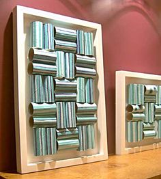 diy art designs for kitchen pinterest | miscellaneous - art, Art made of.. Toilet paper roll (painted)!!!