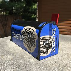 Custom Mailboxes, Custom Boxes, New Mailbox, Mailbox Post, Plymouth Duster, Motorcycle Gifts, Vanity Plate, Gifts For Veterans, Custom Neon Signs