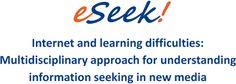 eSeek project — Yhteiskuntatieteellinen tiedekunta Behavioral Neuroscience, Learning Disabilities, Research Projects, New Media, Personal Care, Self Care, Personal Hygiene