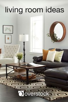Living Room Ideas - It's time to give your living room a refresh. Whether you're going for a full remodel or just looking to update your decor, this guide features living room ideas that will help you navigate some of the most popular interior design styles.