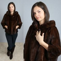 Mouse over image to zoom  Have one to sell? Sell it yourself  SOFT BROWN VTG 60s JACKIE O MINK FUR JACKET BOLERO COAT S M offered by  modbodvintage on ebay