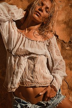 the heat of canarian islands, model LauraS