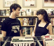 Inspiring picture 500 days of summer, 500 dias con ella, boy, casal, couple. Resolution: 500x334 px. Find the picture to your taste!