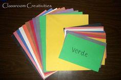 Classroom Creativities Señora Pelirroja